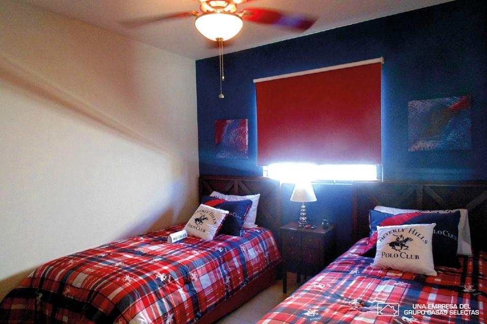 ideas para decorar cuarto doble de niños casa tipo infonavit
