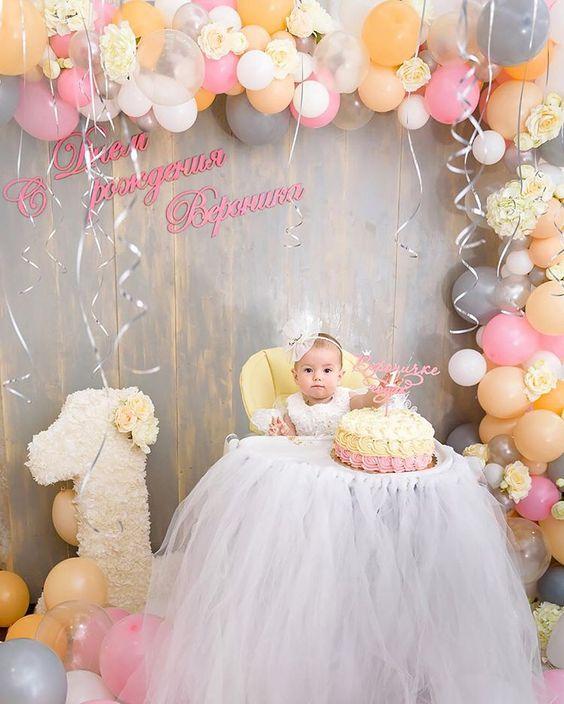 Temas de cumpleaños para el primer año de una niña