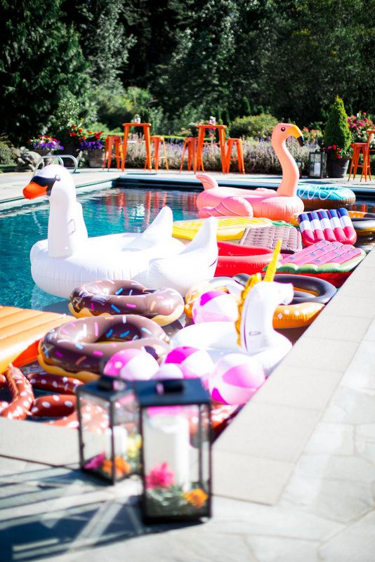 ideas para pool party adolescentes