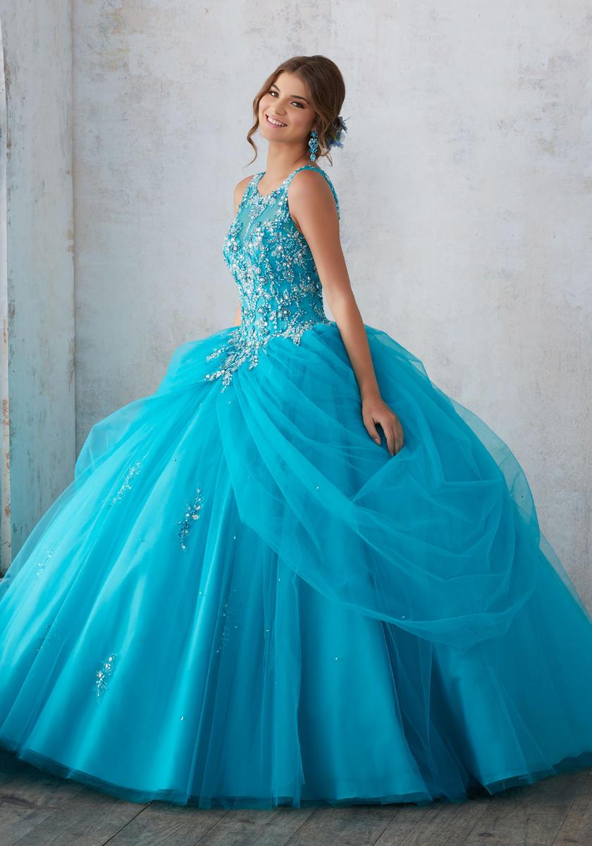 imagenes de vestidos de 15 anos estilo princesa (5)