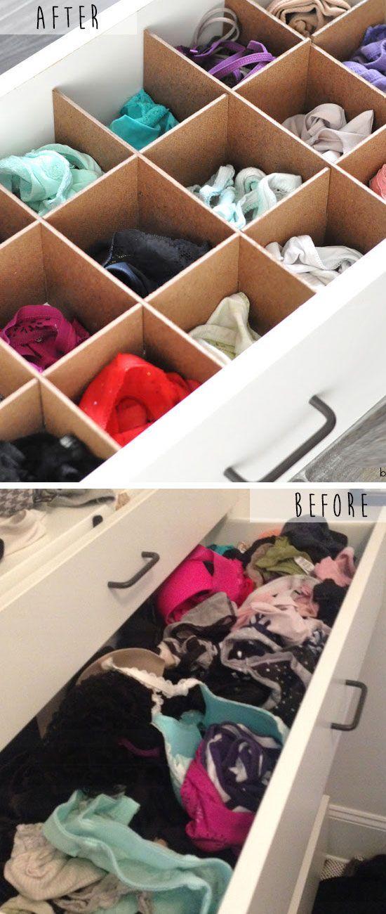 Como organizar lenceria los mejores tips de organizaci n 2019 - Organizador de ropa interior ...