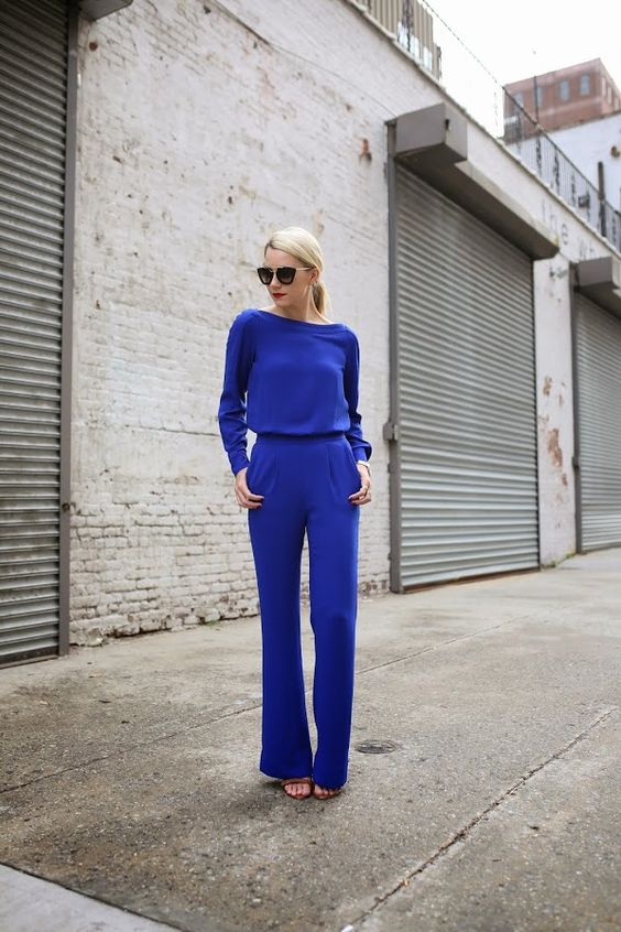 Outfits color azul