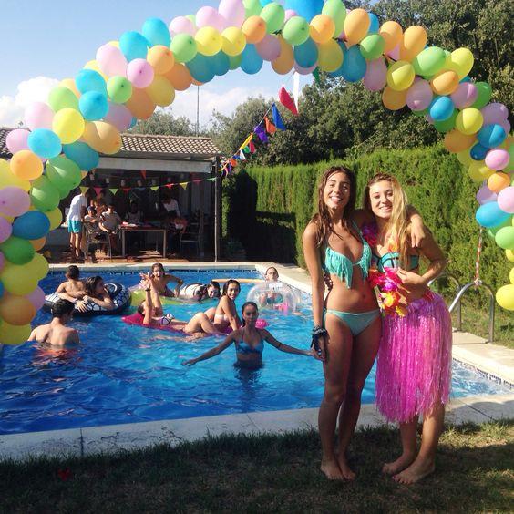 Fiestas tematicas para adolescentes ideas para organizar for Ideas para cumpleanos en piscina