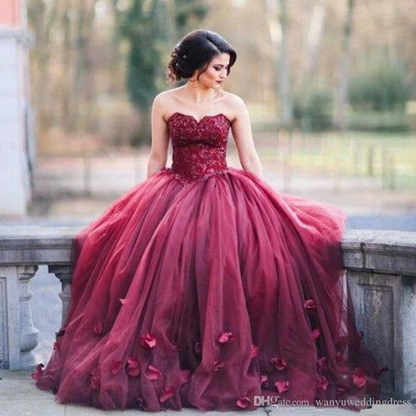 vestidos de 15 anos color vino (3)