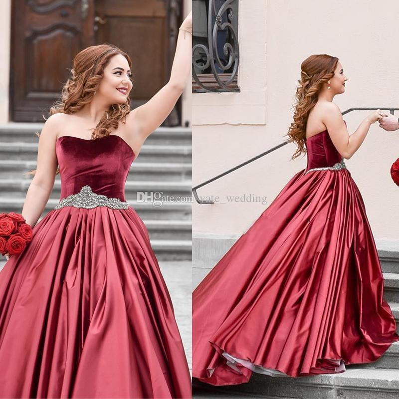 vestidos de 15 anos color vino (5)