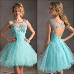 b90b6838a Vestidos de 15 años cortos 2016