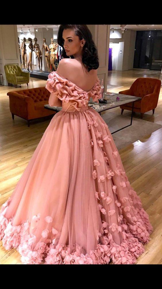 Vestidos de damas de 15 largos