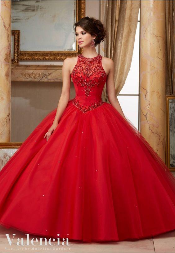 vestidos de 15 anos rojos (1)