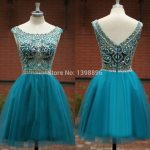 Vestidos de xv años desmontables azul turquesa