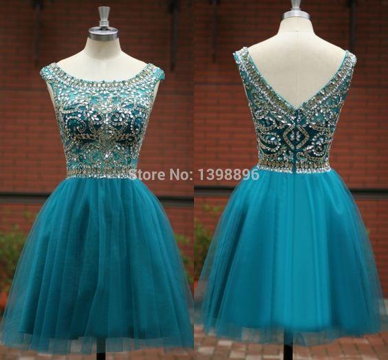 Vestidos De Xv Años Desmontables Azul Turquesa Como