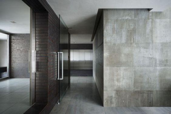Acabados para paredes exteriores e interiores tendencias - Cemento decorativo para paredes ...