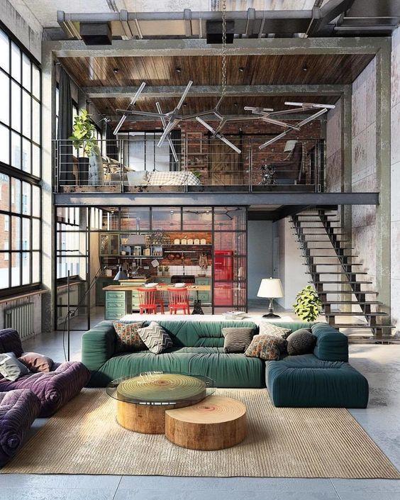 Como decorar la casa estilo industrial decoraci n de for Casas de estilo industrial
