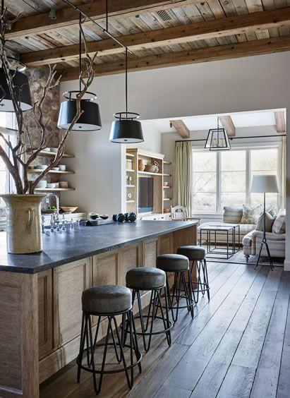 Como decorar la casa estilo r stico decoracion de interiores for Estilo rustico moderno