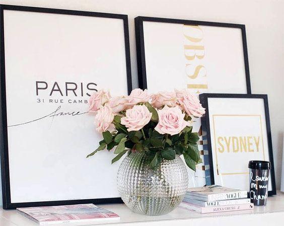 centros de mesa jarrones con flores (2)