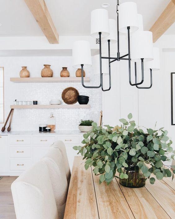 Centros de mesa minimalistas