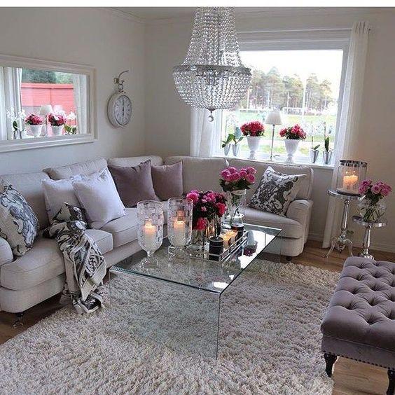Centros de mesa salon decoracion de interiores fachadas - Centro de mesa para salon ...