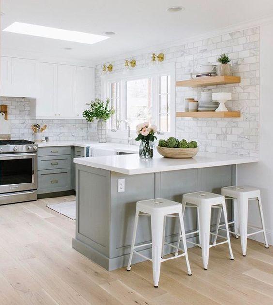 Cocina americana tendencias para transformar tu hogar for Decoracion cocinas americanas pequenas