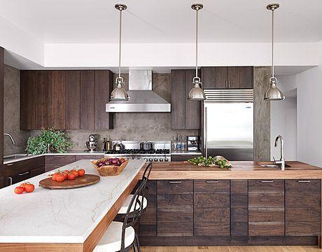 cocina americana tendencias para transformar tu hogar On cocina americana de madera