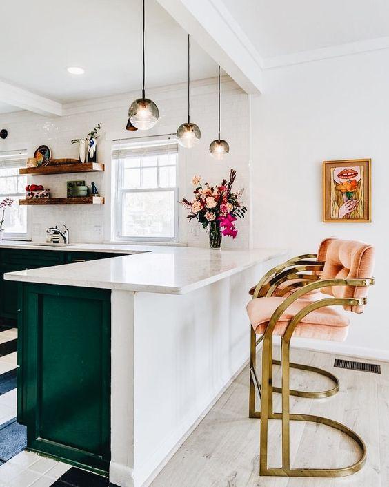 Cocina americana tendencias para transformar tu hogar - Cocinas modernas americanas ...