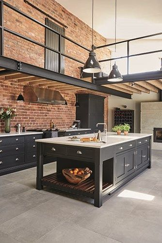 Cocinas estilo industrial