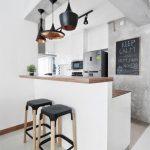 Cocinas pequeñas con barra