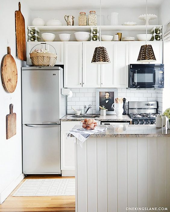 Cocinas pequeñas rusticas