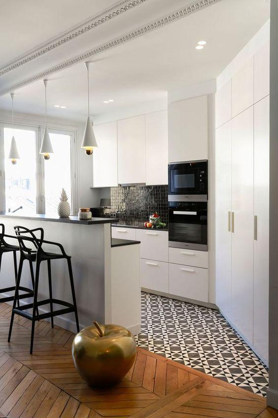 Cocinas peque as y bonitas decoracion de interiores for Cocinas bonitas