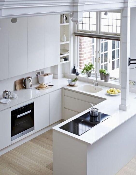 Cocinas peque as y bonitas como organizar la casa - Cocinas bonitas ...