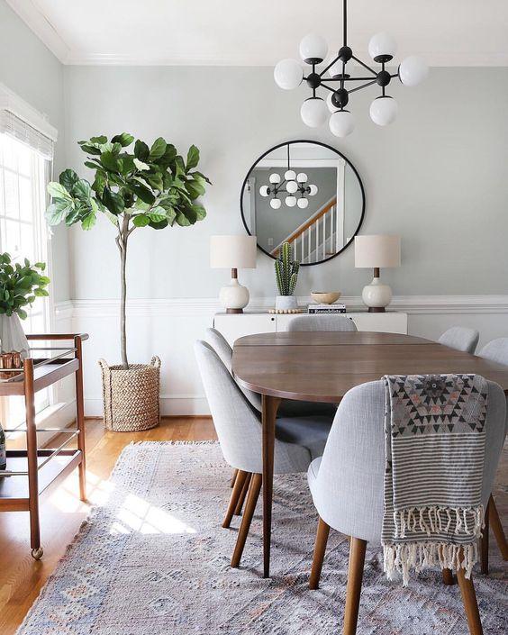 533 Best Dining Rooms Images On Pinterest: Como Elegir La Lampara Para El Comedor