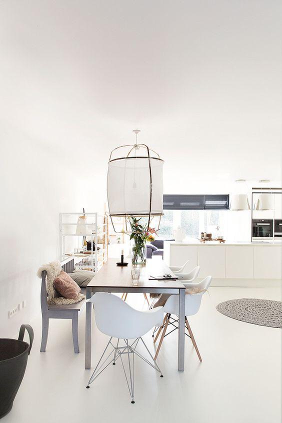 Como elegir la lampara para el comedor