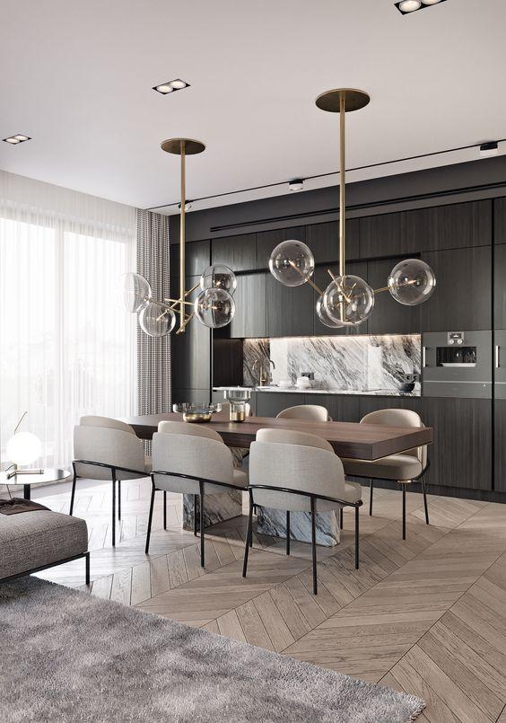 Como elegir la lampara para el comedor ideas de decoraci n for Lamparas para el comedor