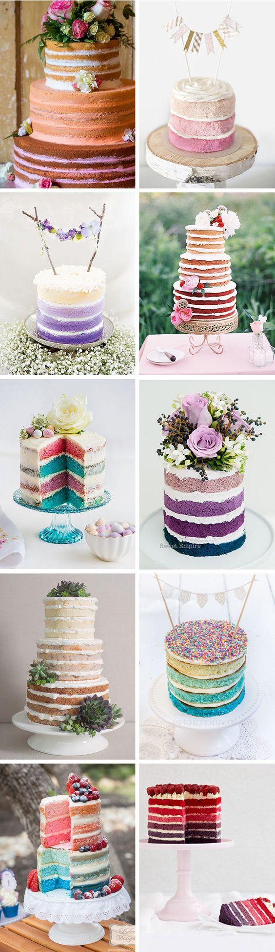 como hacer naked cake moderno 4