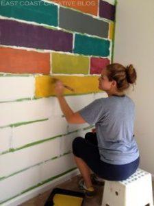 Como pintar paredes interiores