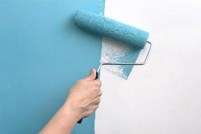 Como pintar una pared con rodillo