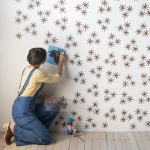 Como pintar una pared ya pintada