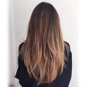 Cortes de cabello largo 2018