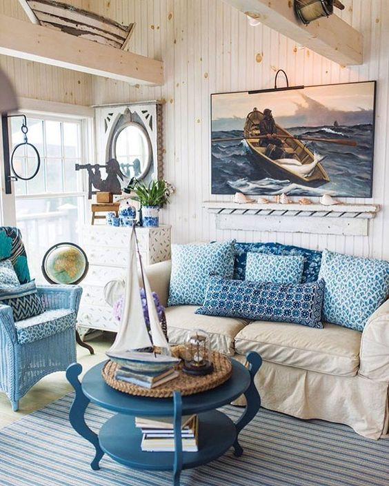 Decoracion de interiores estilo marinero