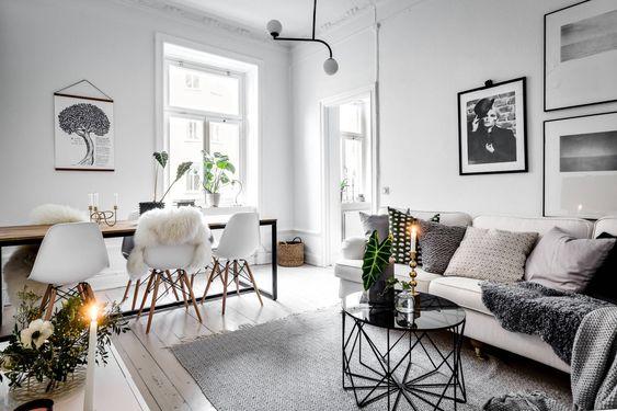 Como decorar la casa estilo minimalista 30 ideas para tu for Living comedor minimalista