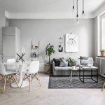 Decoracion minimalista sala comedor