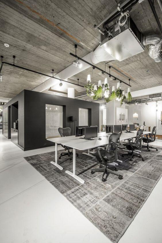Estilo industrial en oficinas