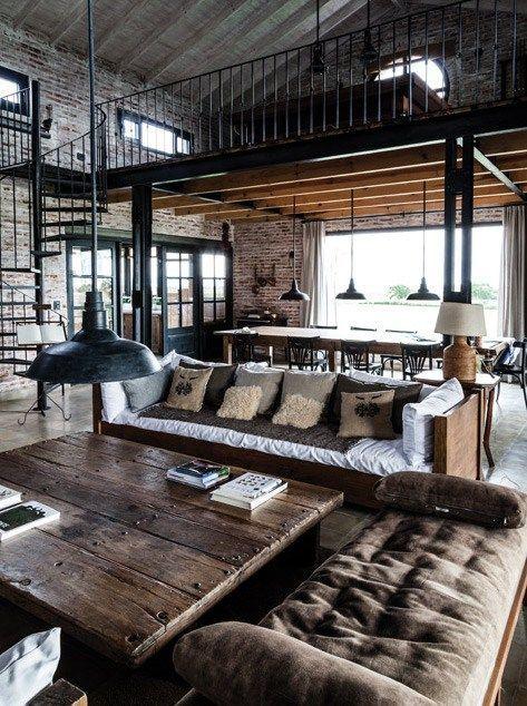 Estilo industrial interiores