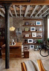 Estilo industrial paredes