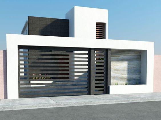 Fachadas de casas simples