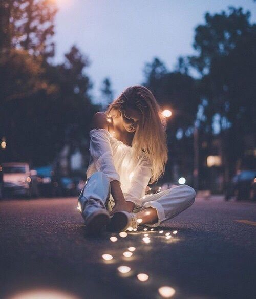 fotografia en la noche sin flash