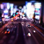 fotografias en movimiento de noche