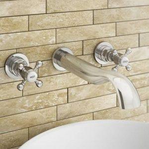 grifo bimando para ducha
