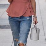 Imágenes de blusas para una cintura pequeña