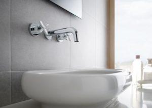instalacion empotrada para grifos de baño