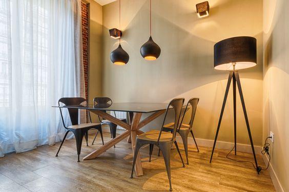 modelos de mesas de comedor de madera