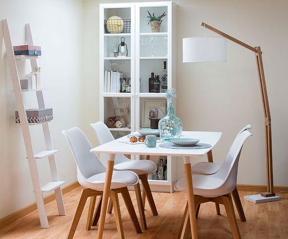 Como elegir la lampara para el comedor ideas de decoraci n - Lamparas de pie para comedor ...